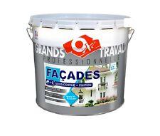 Paint walls facade 12 year monolayer resin hydro pliolite white 10l oxi Durieu