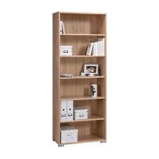 Büro AKTENREGAL Standregal Bücherregal Ordnerregal Holzregal Regal SONOMA EICHE