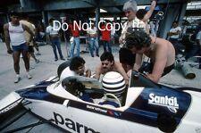 Riccardo Patrese Brabham BT52 Brazilian Grand Prix 1983 Photograph