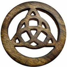 """4"""" Triquetra Altar Tile Pagan Witchcraft Wiccan Ritual Altar Supply"""