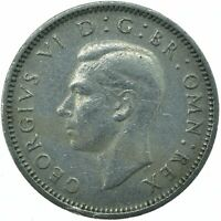 1950 SIXPENCE - KING GEORGE VI.  GREAT BRITAIN COIN COLLECTIBLE    #WT22054
