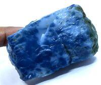 493 Ct Natural Australian Blue Opal Specimen Facet Untreated Rough Certified