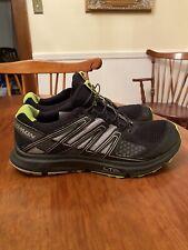 Salomon XR Mission 1 Trail Running Shoe Men's Black Neon Green Size 11