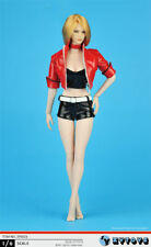 ZYTOYS 1//6 ZY5018 Female Hood Leather Trench Coat Underpants Whip No figure