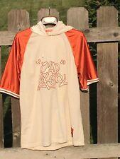 + Old Skool Men's Large Short Sleeve Hoodie Style Basketball Jersey Shirt