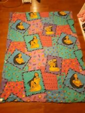 Disney Pocahontas Vintage Twin Bed Comforter 1990's Used Some Wear Ok Condition