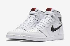 2016 Nike Air Jordan 1 Retro High OG SZ 11 White Black Yin Yang Red 555088-102