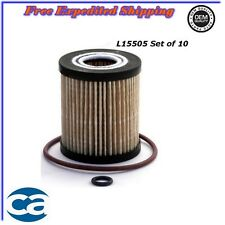 Oil Filter Set of 10 For Mazda 6 CX-7 Ford Escape Mercury 2.0L 2.3L 2.5L