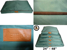 Ellie-Bo Extra Extra Large 117cms x 75cms Waterproof Dog Bed in Green will fit 4