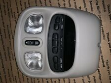 56044864AB 2006 Dodge Dakota Overhead Console With Dome Lights Homelink Sunroof