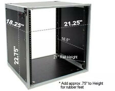 OSP TAC12U-18 12 Space Studio Amp/Effects Rack Case ATA Style