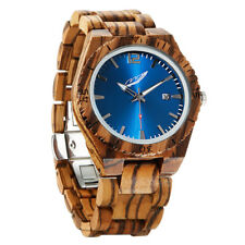 Wilds Memory Zebrawood Watch | Lightweight Handmade Wood Wrist Watch