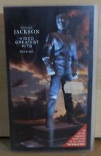 VHTF MICHAEL JACKSON VHS VIDEO CASSETTE TEN GREATEST CLIP HITS PAL