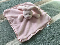 Jellycat pink bunny rabbit Baby Comforter Blanket Soft plush Toy blankie DEBS17