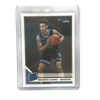 Brandon Clarke Memphis Grizzlies 2019-20 Panini Donruss Basketball Rated Rookie