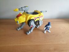 POWER Rangers Legacy Zord del /& Figura-evermannellidae TIGER /& Yellow Ranger-NUOVO