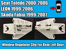 Window Regulator Clip For Seat Toledo 00-06 Skoda Fabia 99-07 Rear Left Door