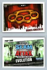 Brass Knuckles - WWE Slam Attax Evolution 2009 Topps TCG Card