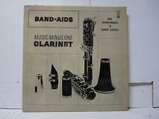 RARE MUSIC MINUS ONE FOR CLARINET LP WITH BOOKLET MMO 7049 BAND-AIDS     #