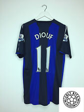 Sunderland DIOUF #11 *PLAYER ISSUE* 08/09 Away Football Shirt (L) Soccer Jersey