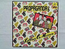 "Propaganda Calling On Moscow 10"" EP 1979 Epic 3E-36451 1-D/1-B Promoing Press NM"