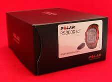 POLAR RS300X SD ORANGE HEART RATE MONITOR RUN BIKE EXERCISE FITNESS 90036631