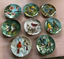 Collector Bird Plates ~ Knowles & W. L. George Plates ~ Lot of Eight