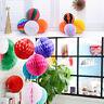 5Pcs Paper Lantern Honeycomb Balls Tissue Hanging Wedding Garland Party Decor