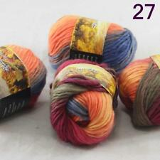 Skeins Knitting Yarn Chunky Colorful Hand Wool Wrap Scarves 27