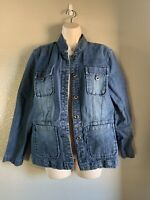 Women's High Sierra Button Front Jean Jacket, Large