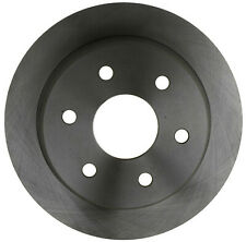 Disc Brake Rotor-Non-Coated Rear ACDelco Advantage 18A952A
