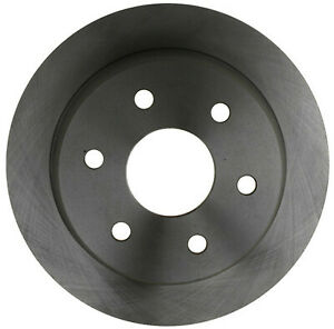 Disc Brake Rotor-Non-Coated Rear ACDelco Advantage 18A952A