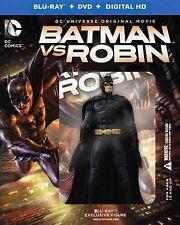 Batman vs Robin (Blu ray + DVD/Digital HD) with BATMAN Figurine
