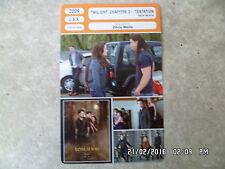 CARTE FICHE CINEMA 2009 TWILIGHT CHAPITRE 2 TENTATION Kristen Stewart Pattinson