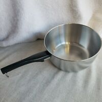 Vintage West Bend 4 Quart Pot Stainless Steel No Lid