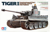 Tamiya 35216 German Tiger I Early Production 1/35 Scale kit