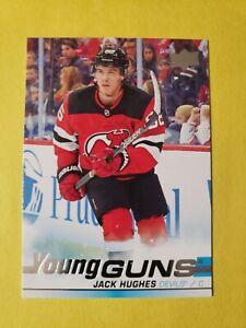 2019-2020 Upper  Deck-  Jack  HUGHES-Young  GUNS  #201-  New  Jersey Devils