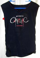 Emilie Autumn Opheliac Ribbon Corset Laced Altered Tee Shirt Tank SMALL