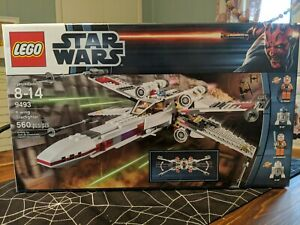 LEGO Star Wars X-Wing Starfighter (9493) Complete with box and minifigs