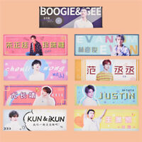 1 Pc Ninepercent Album Hand Banner August Adam Printed Concert Decor Fans Gift