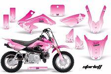 Dirt Bike Graphics Kit Decal Wrap For Honda CRF50 CRF 50 2004-2013 STARLETT PINK