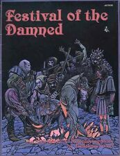 FESTIVAL OF THE DAMNED EXC+! Ars Magic Module Atlas Games AG3035 Adventure