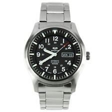 Seiko Analog Business 5 Sports Silver Mens SNZG13J1