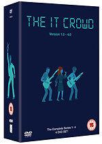 The IT Crowd I.T. Complete Series 1+2+3+4 Box Set New DVD Region 2