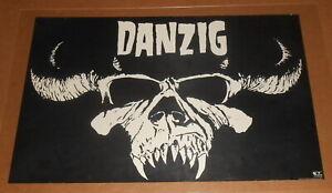 Danzig Poster 1988 Original 35x23 (skull) Def American RARE Misfits