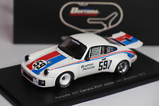 SPARK PORSCHE 911 CARRERA RSR #59 WINNER DAYTONA 1975 1/43