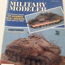 Military Modeler Magazine M1A1 Abrams Israeli November 1988 071417nonrh