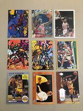 NBA 🏀 Superstar Basket Cards 🏀 Jordan • Bird • Magic 🏀 9 Card Lot 🏀 0713