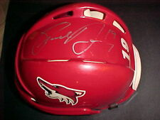 SHANE  DOAN AUTOGRAPHED AUTHENTIC CCM HOCKEY HELMET