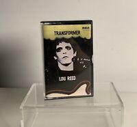 LOU REED Transformer Cassette Tape 1981 U.K.  Release RCA